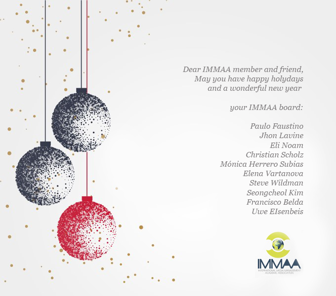 IMMAA Christmas Card